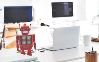Effektivisera verksamheten med AI och RPA
