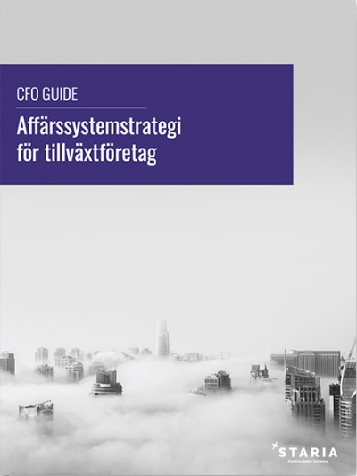 CFO Guide - affärssystemstrategi för tillväxtföretag