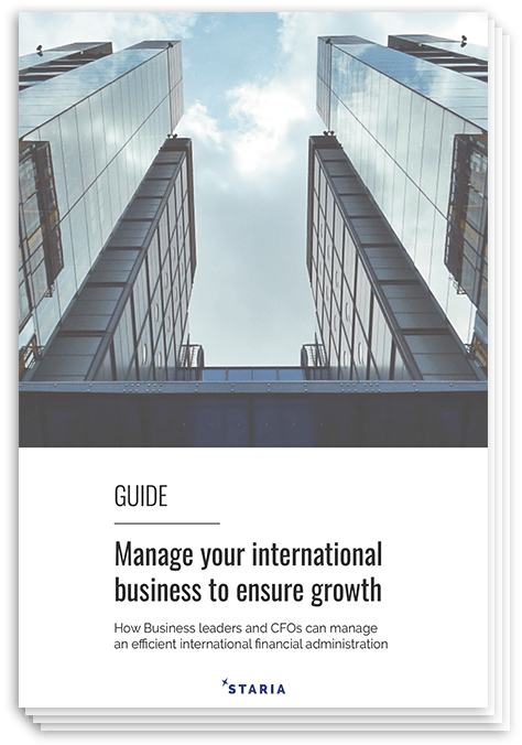 Manage international businesses to ensure growth