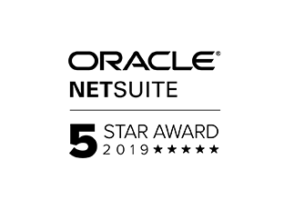 NetSuite 5 Star Award 2019