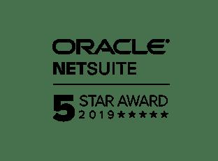 NetSuite 5 Star Award 2019