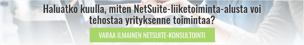 NetSuite-konsultointi