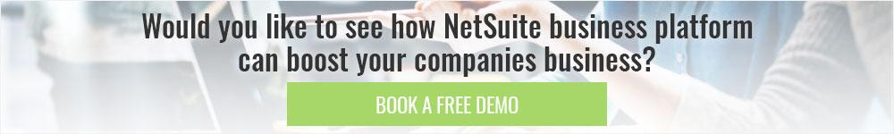 Free NetSuite demo
