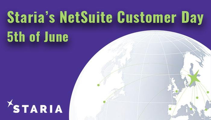 Staria's NetSuite Customer Day 2019