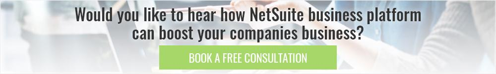 NetSuite free consultation