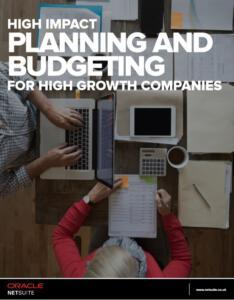 NetSuite Whitepaper Planning and Budgeting