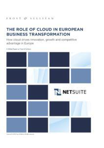 The role of cloud in European Business - Affärssystem i molnet