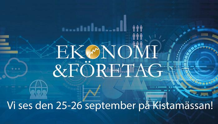 Ekonomi & Företag fair 25-26.9.2019 in Sweden