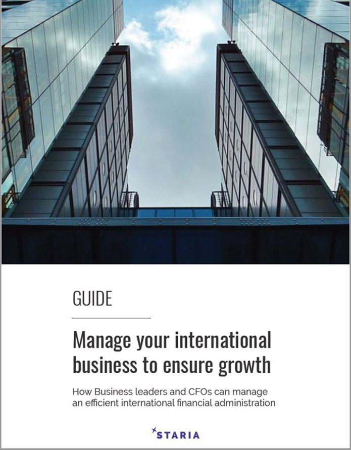 Manage your international growth Guide