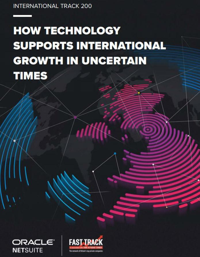 Report How technology supports international growth