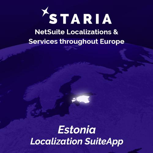 NetSuite localization Estonia