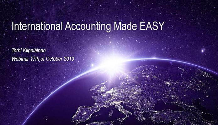 International Acconting Made EASY webinar recording
