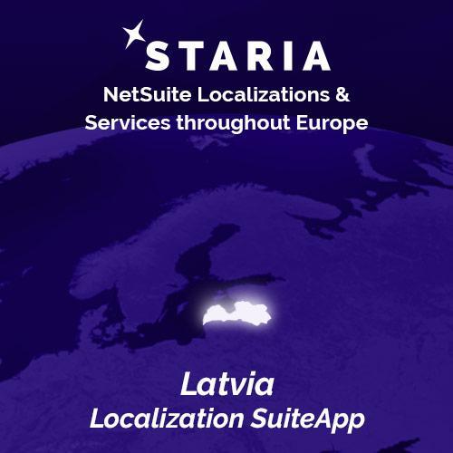 NetSuite localization Latvia