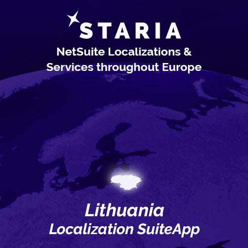NetSuite localization Lithuania