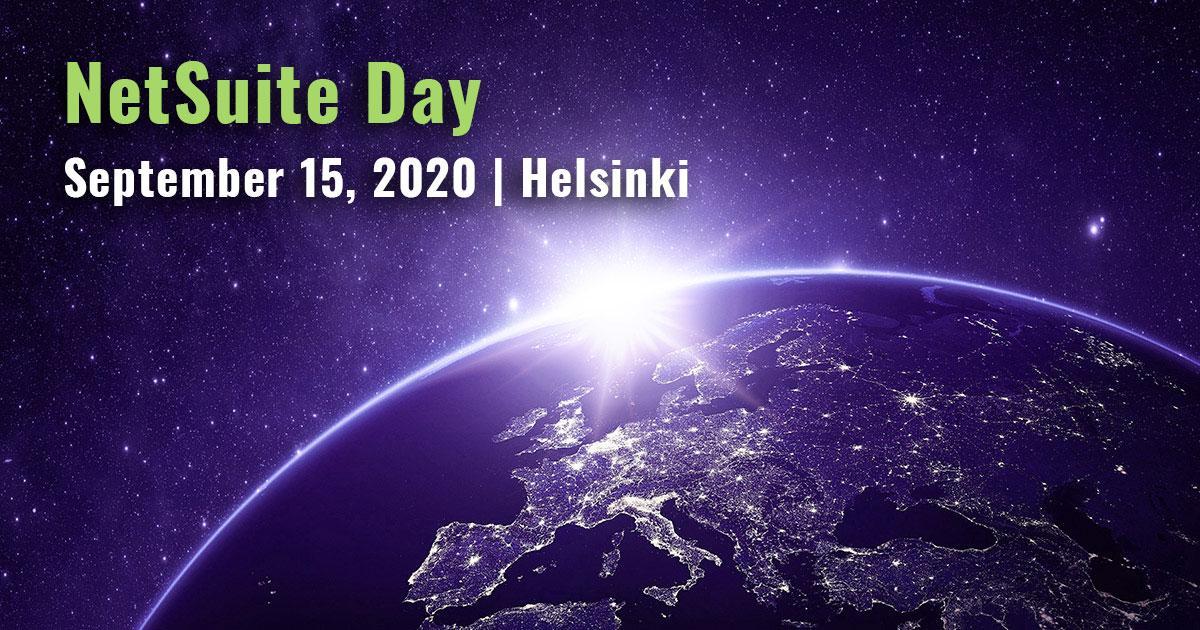 NetSuite Day | 15.9.2020 | Helsinki