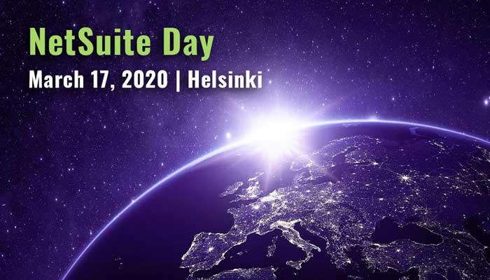 NetSuite Day   March 17, 2020   Helsinki
