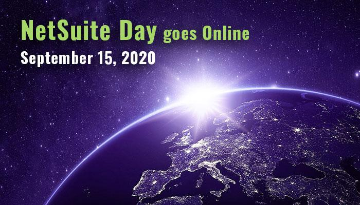 NetSuite Day goes Online 15.9.2020