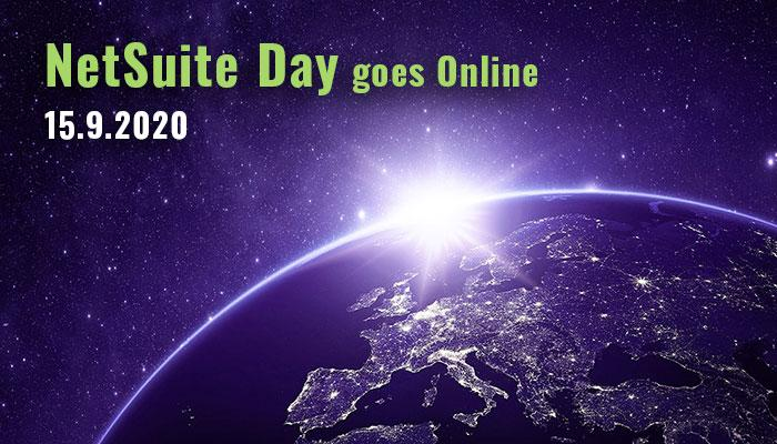 NetSuite Day goes Online | 15.9.2020