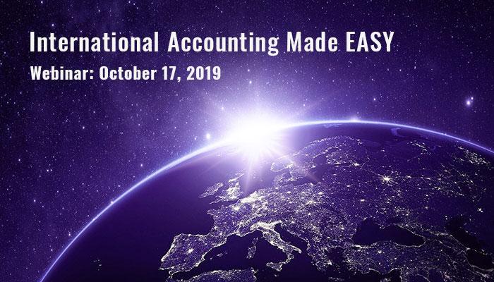 Webinar: International Accounting Made EASY