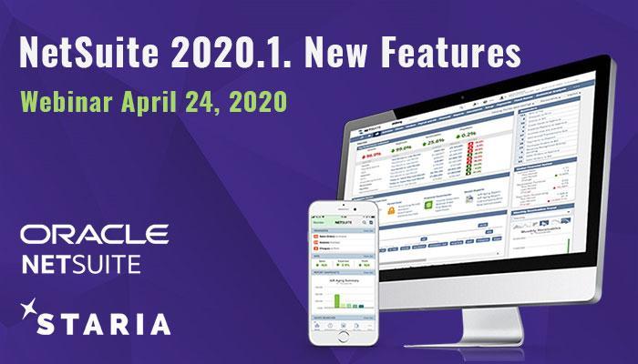 Webinar: NetSuite 2020.1 New Features