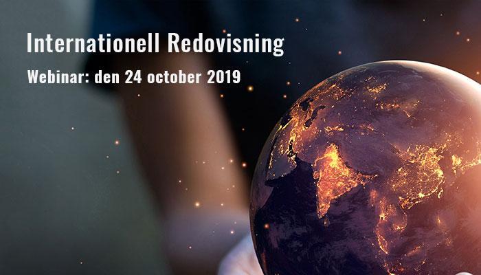 Webinar: Internationell redovisning