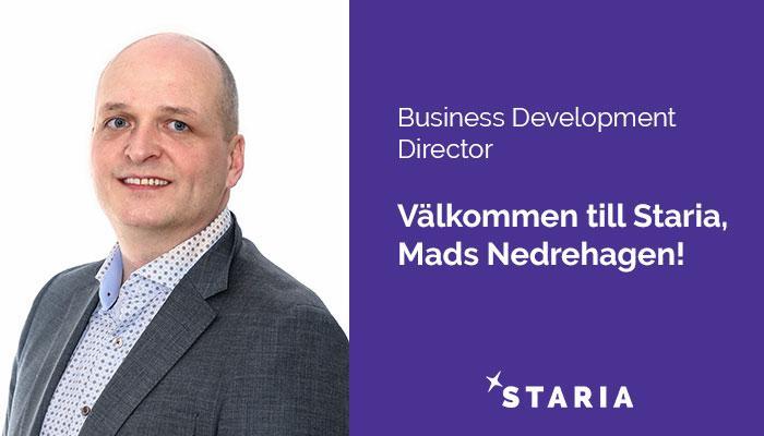 Mads Nedrehagen Staria's Business Development Director