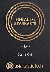Finlands Starkaste Staria 2020