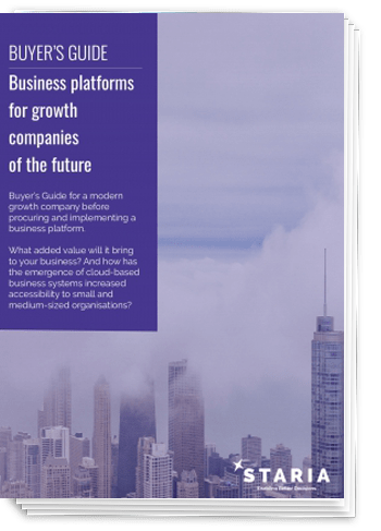 Buyer's guide: Business platforms for growth companies