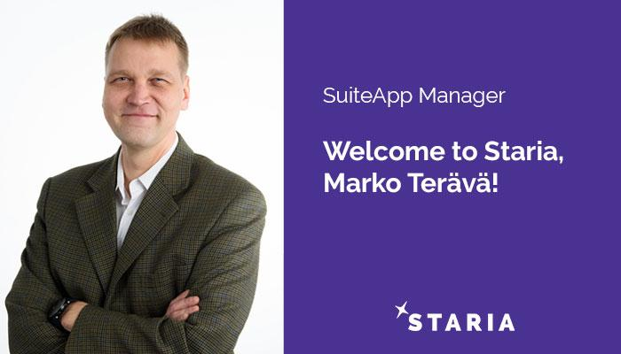 Marko Terävä SuiteApp Manager