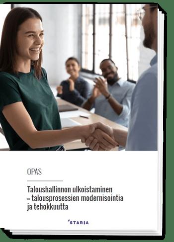 Opas: Taloushallinnon ulkoistaminen – talousprosessien modernisointia ja tehokkuutta