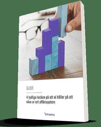 Guide: 5 tydliga tecken på att ni håller på att växa ur ert affärssystem