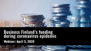 Webinar: Funding during coronavirus epidemic