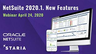 Webinar: NetSuite 2020.1 New Features