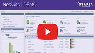NetSuite Demo - Staria