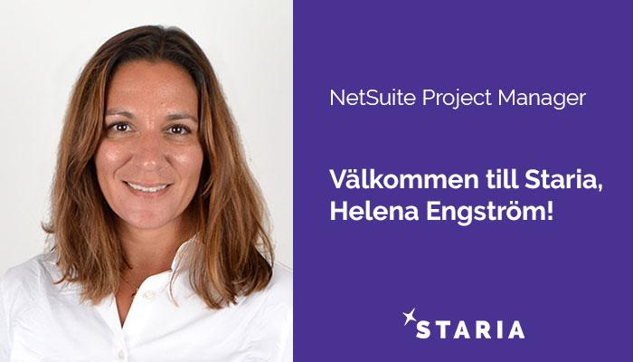Helena Engström NetSuite Project Manager
