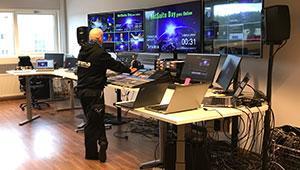 NetSuite Day 2020 striimattiin Stremian studiolla Helsingissä