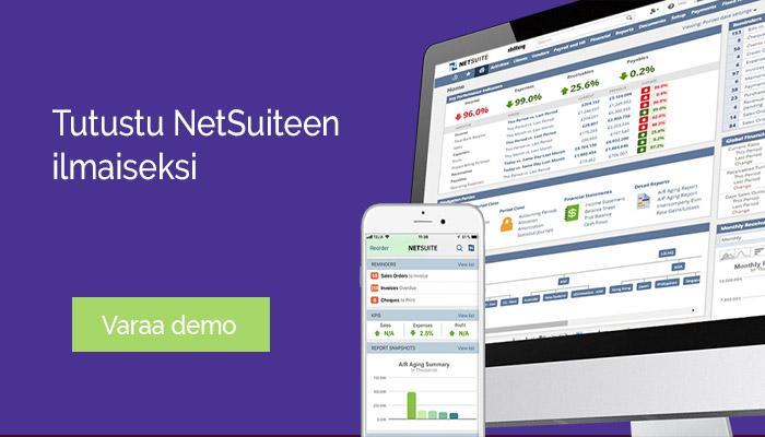 NetSuite liiketoiminnan johtamisen tukena - salaisuus asiakkaiden menestykseen