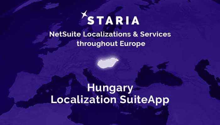 NetSuite Localization SuiteApp is now available for Hungary