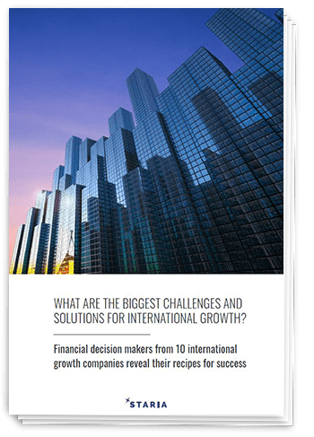 Report: Challenges and solutions for international growth