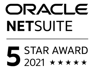 NetSuite 5-Star Award 2021