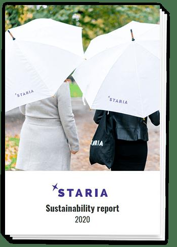 Staria's Sustainability Report 2020