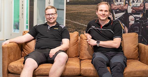 VTR-Workwear Center: Oskari Kurki ja Sami Suominen