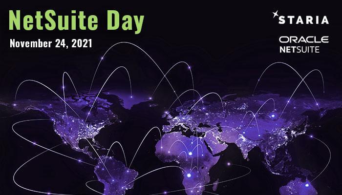 NetSuite Day: November 24, 2021