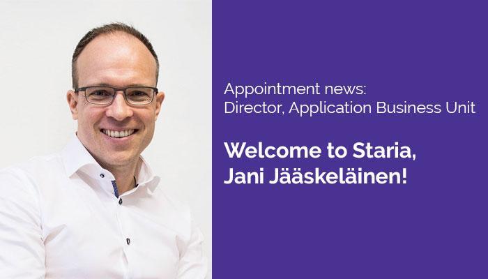 Jani Jääskeläinen, Director Application Business Unit