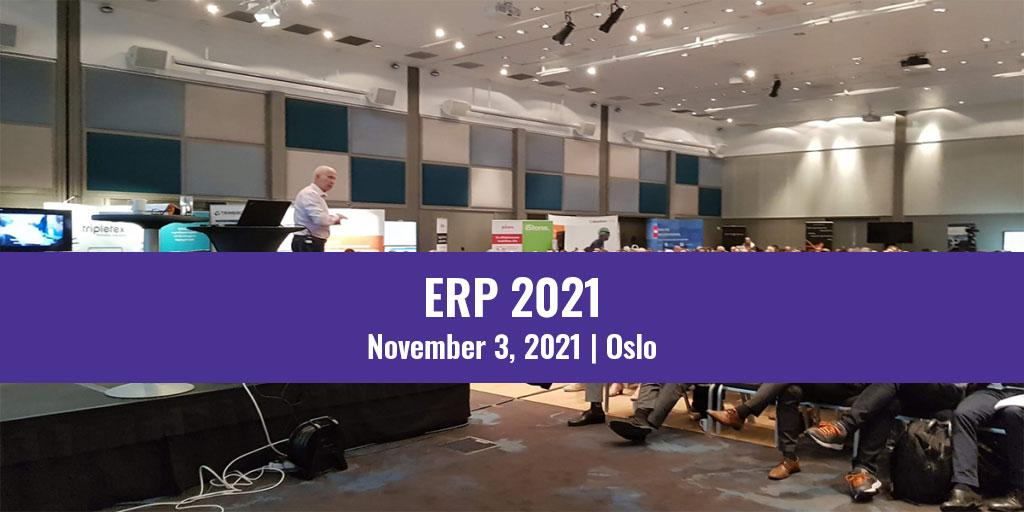 ERP 2021 event in Oslo