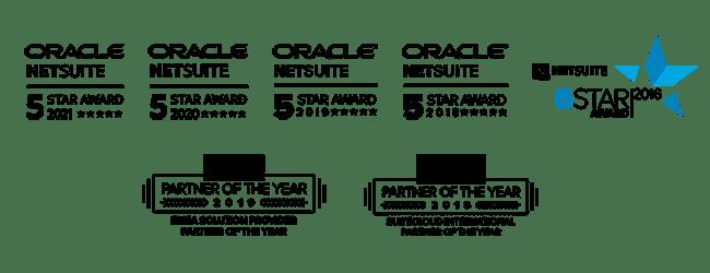 Staria's NetSuite Awards